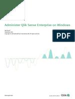 Administer Qlik Sense Enterprise on Windows