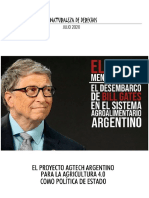 Bill Gates y el proyecto Agtech argentino para la agricultura  4.0 como política de estado