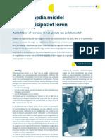 Sociale media middel voor participatief leren (P Moekotte)