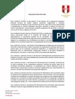 RESOLUCION N° 023-FPF-2020