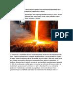 caracteristicas fificas y mecanicas del acero