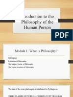 PHILO MODULE 1