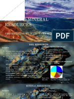 ASSNO.02 Soil and mineral resources