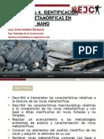 CLASE MAGISTRAL PRACTICA No 4 ROCAS METAMÓRFICAS.pdf