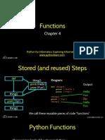 04 Python - Functions