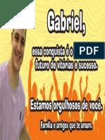 Faixa Gabriel Sobrinho Margareth
