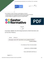 Concepto 66961 de 2015 Departamento Administrativo de la Función Pública - EVA - Función Pública