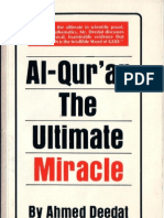 Al Quran the Ultimate Miracle by Ahmed Deedat