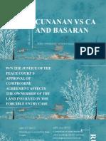 Cunanan v CA and Basaran