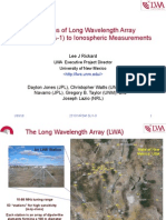Applications of Long Wavelength Array Station LWA-1 (HAARP and HALO programs)