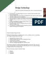 Axiomatic Design Technology