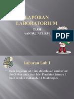 LAPORAN LABORATORIUM