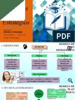 TAREA 1 - Modelo de Plan estratégico