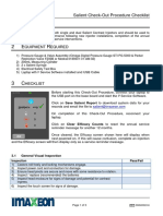 Imaxeon checklist