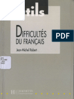 Difficultés Du Français Des Clés Pratiques Pour Éviter Et Expliquer Les Pièges Du Français by Jean-Michel Robert (Z-lib.org)