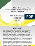 virus on files and business enterpreniew