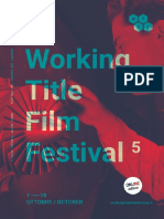 Working Title Film Festival 5 – Catalogue