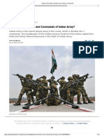 Indian Army_ Basic Structure and various commands