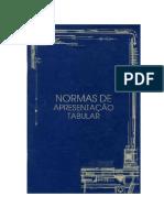 IBGE Normas de Apresentação Tabular 1993