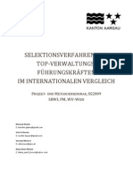 Selektionsverfahren von Top-Verwaltungsführungskräften