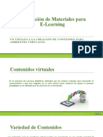 Materiales para E-Learning