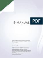 E-manual Samsung