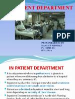 In Patient ward final.pptx