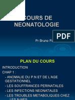 COURS DE NEONATOLOGIE