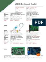 Dec. CYTech 2010 DVR card price