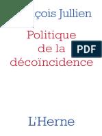 Politique De La Decoïncidence