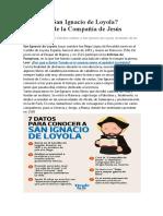 Quién fue San Ignacio de Loyola con videos
