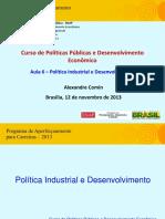 Aula 6 (Alexandre Comin) - Indústria PI&DEC