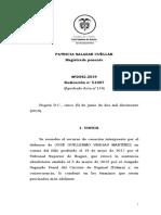 CSJ-SP Rad. 51007 (05.06.2019) - HJR - Hechos Indicadores - Evidencias - Adición a la Imputación