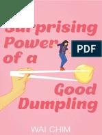 Surprising Power of a Good Dumpling Excerpt