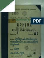 Ordin de zi al Ministrului de Interne nr. 720 din 13.09.1975