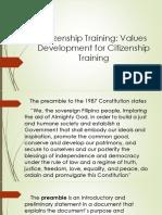 Sept 16 Citizenship-Training