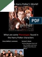 Genetics in Harry Potters World