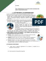 FICHA DE APLICACIÓN ÁREA PERSONAL SOCIAL 14 SETIEMBRE