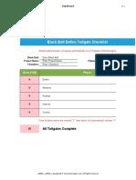 Black Belt Tollgate Checklist BBv1.1 GoLeanSixSigma.com