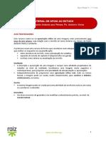 Material Apoio Estudo - Sermão S. António aos Peixes - Pe. António Vieira