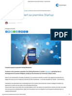 Facebook acquiert sa première Startup Blockchain ! - ConseilsCrypto.com