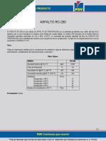 PDV Asfalto RC-250