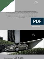 CLS Class Brochure mercedes