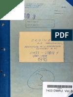 Ordinul Adjunctului Ministrului de Interne nr. II/03303 din 15.11.1975