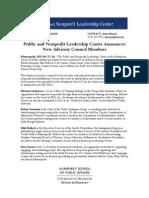New Board Members - HHH School of Public Affairs Public & Nonprofit Leadership Center