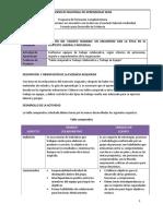 Evi 4- Tabla comparativa Trabajo colaborativo y Trabajo en Equipo