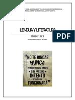 CENS 364 - LENGUA Y LITERATURA - M3