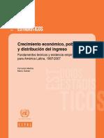 America Latina Crec. Eco. y Porbreza