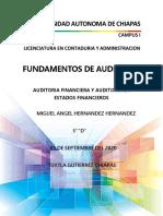 AUDITORIA FINANCIERA Y EN ESTADOS