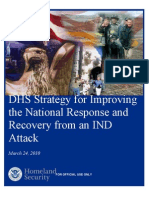 DHS Strategy for Improving the National Response and Recovery from an IND Attack 03-24-10 (FOUO)